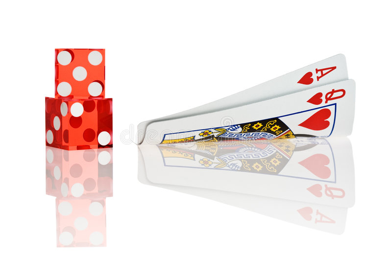 Download Ace And Queen Royalty Free Stock Photo - Image: 3314755