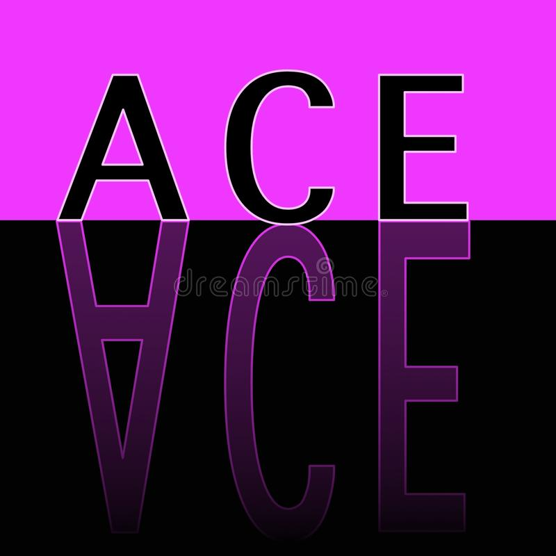 ACE-REFLECTED stock photos
