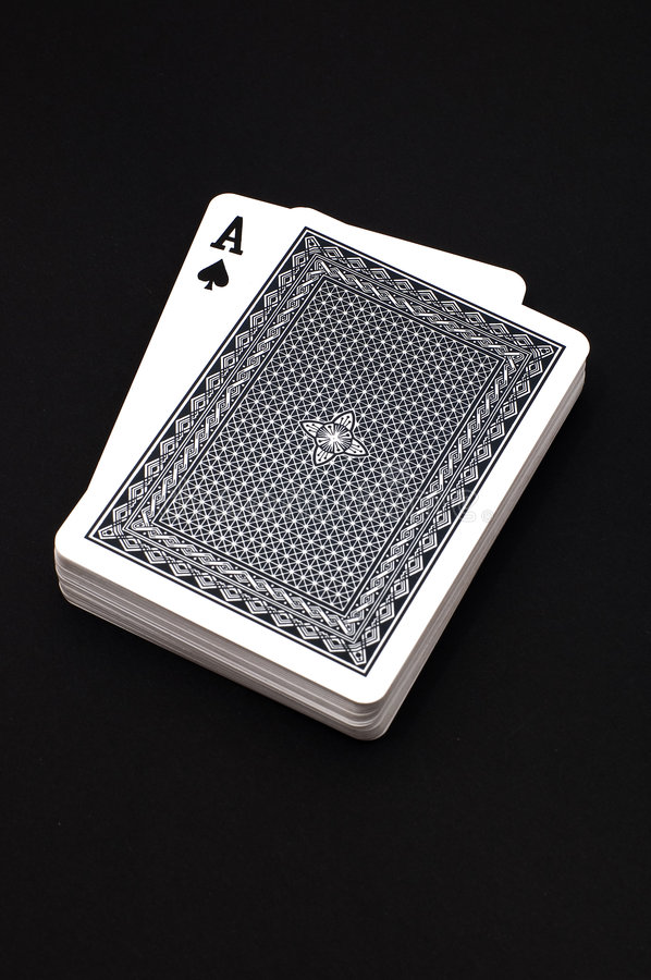 Ace of Spade stock images