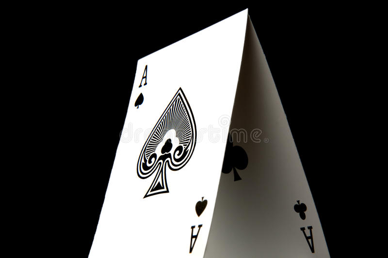 Download Ace of Spades stock image. Image of balance, metaphor - 11703531