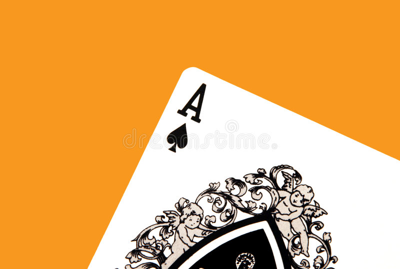 Ace of Spades vector illustration