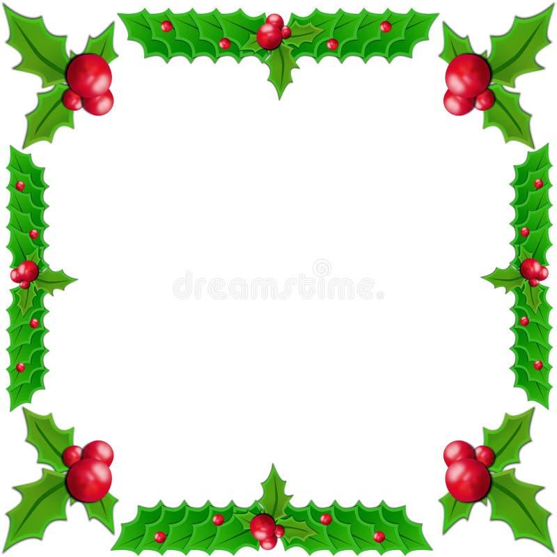 Download Acebo de la Navidad stock de ilustración. Ilustración de nuevo - 7275023