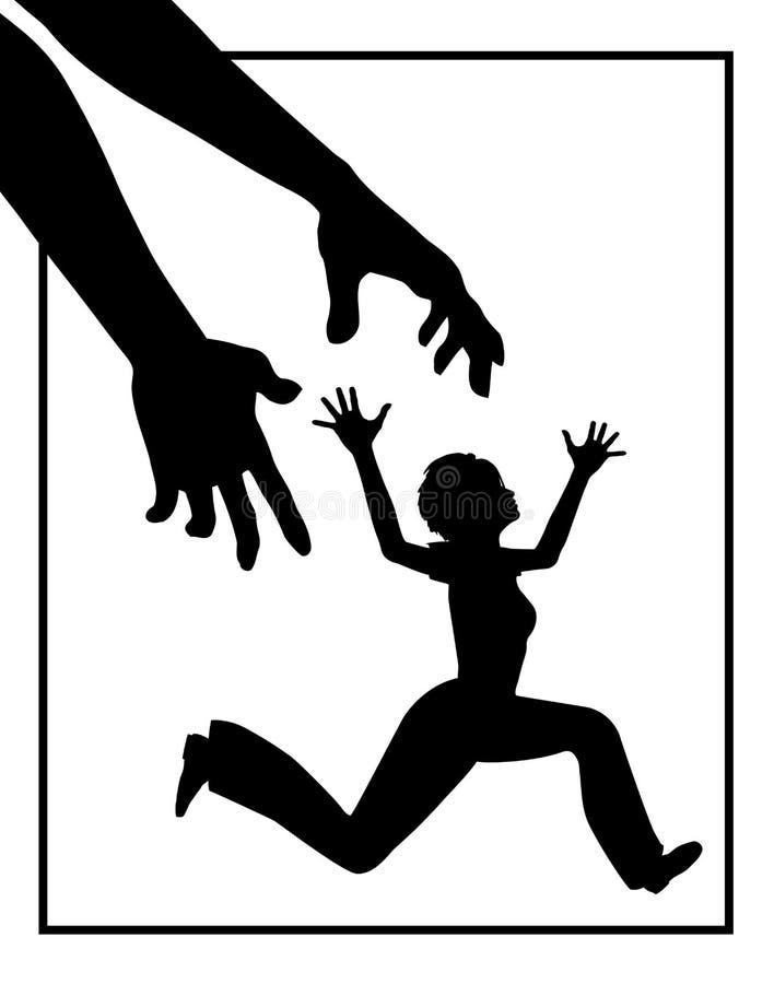 Acecho de la mujer libre illustration