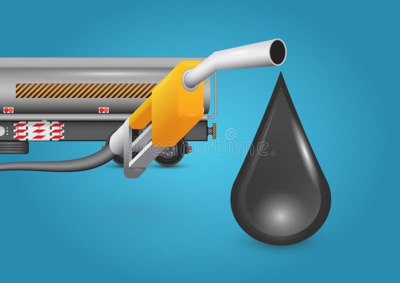 Aceite stock de ilustración