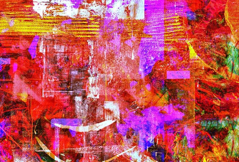Aceite abstracto foto de archivo