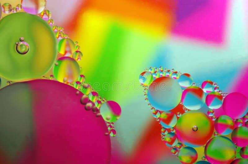 Aceite/agua imagen de archivo libre de regalías
