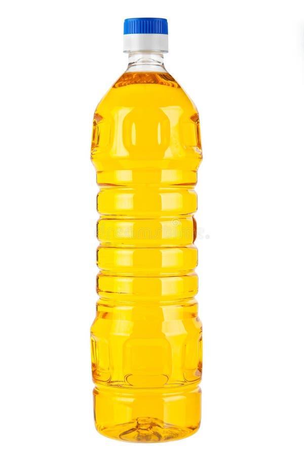 Aceite de la botella fotografía de archivo