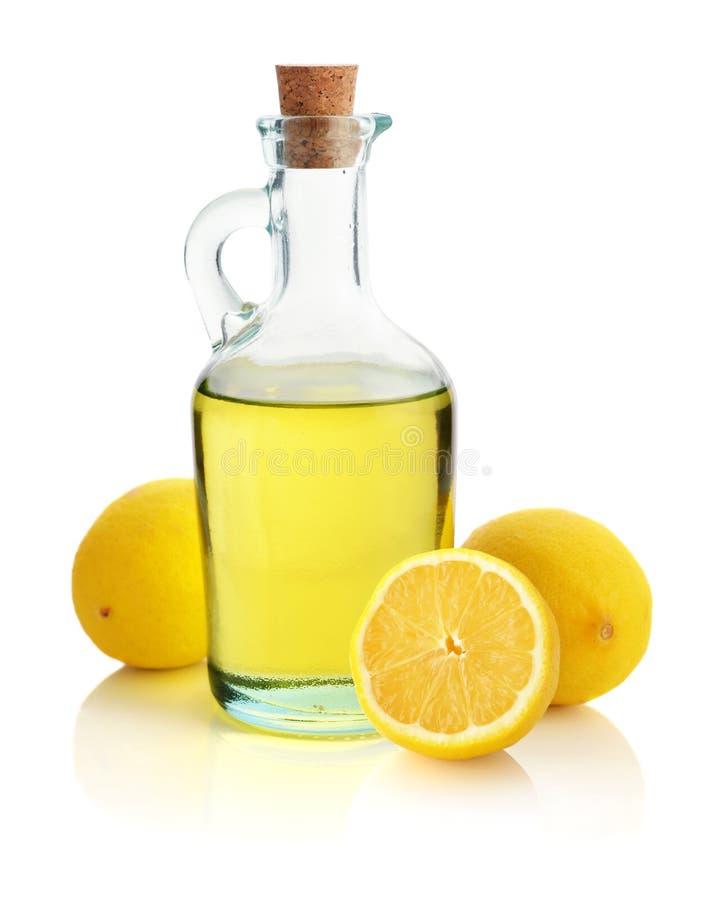 Aceite de limón fotos de archivo
