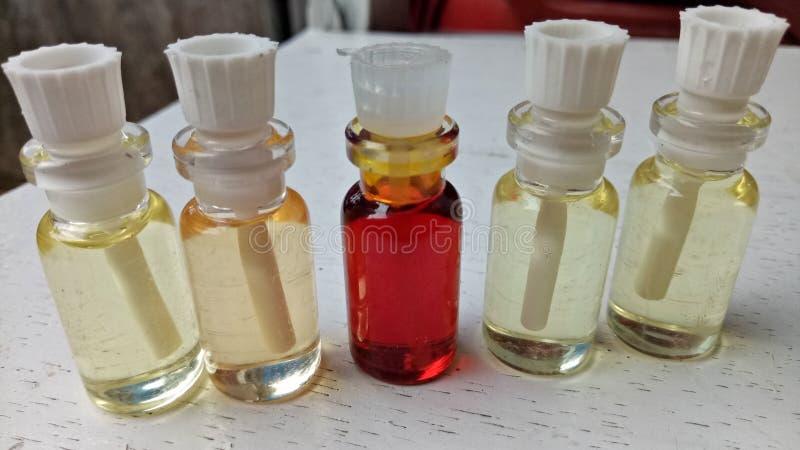 Aceite de Parfum fotos de archivo