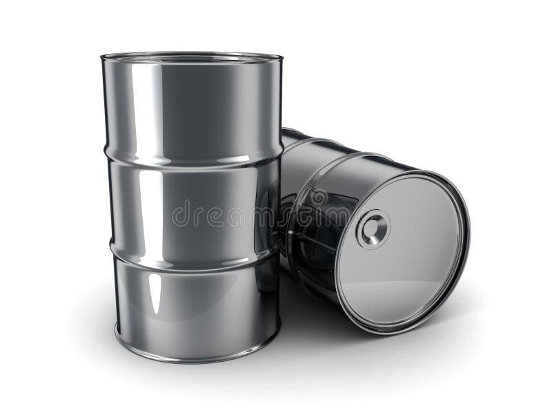 Aceite del barril stock de ilustración
