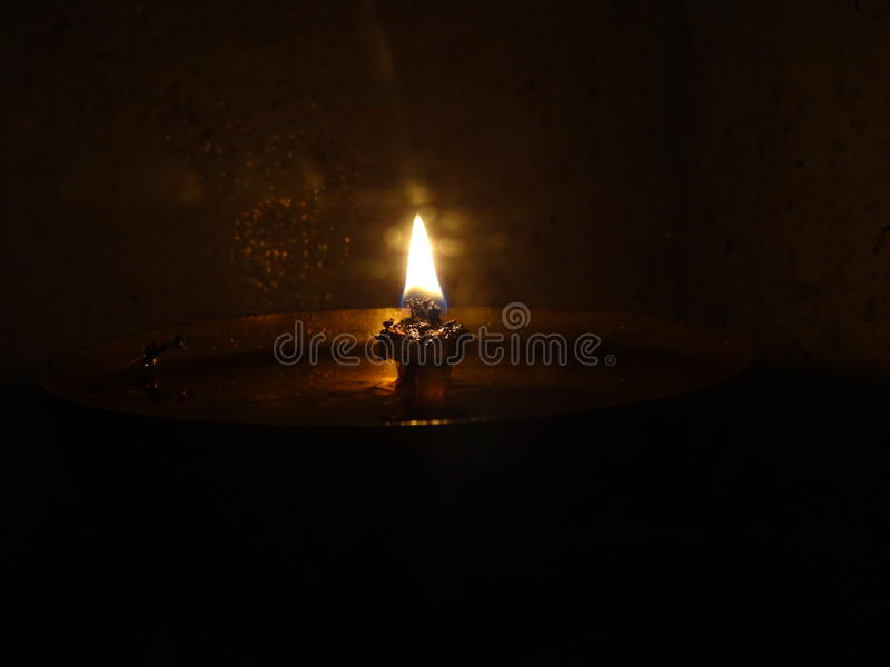 Aceite Lampm foto de archivo