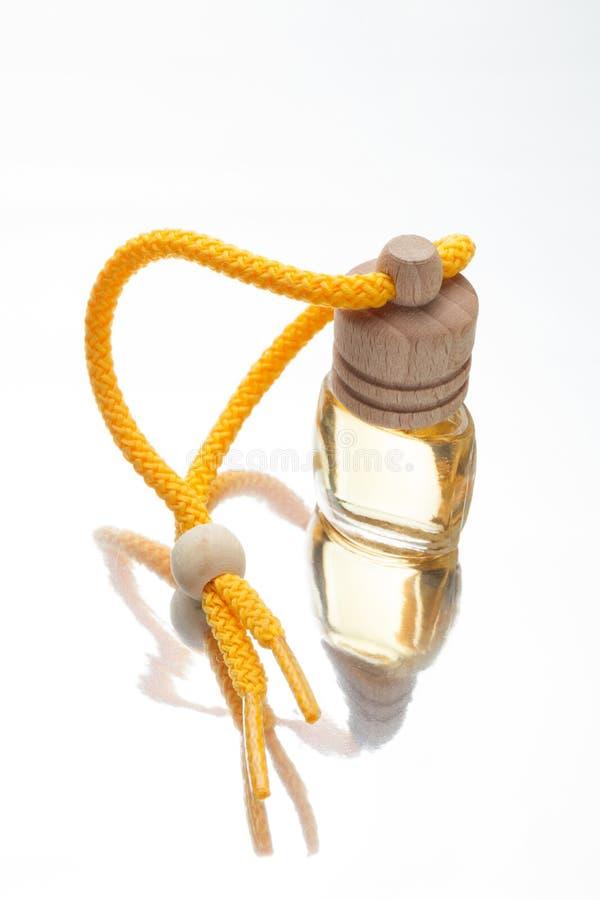 Aceites aromáticos, botella del aroma Fondo de Aromatherapy imagenes de archivo