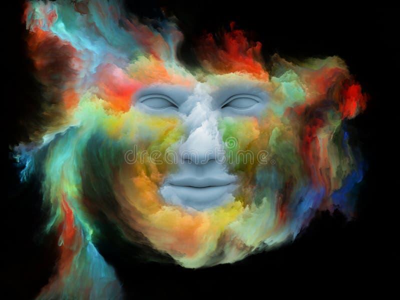 Aceleración del sueño pintado libre illustration