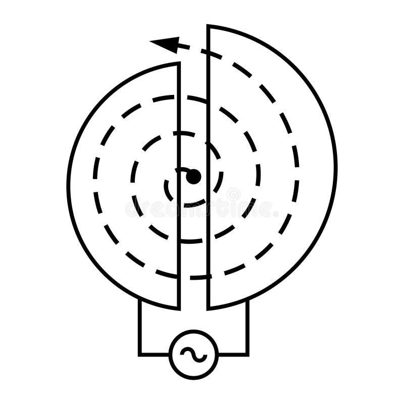 Acelerador de partícula libre illustration