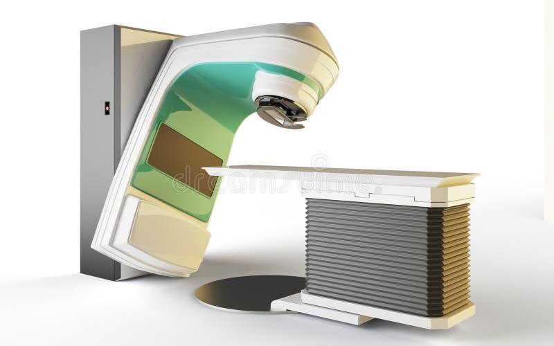 Acelerador linear stock de ilustración