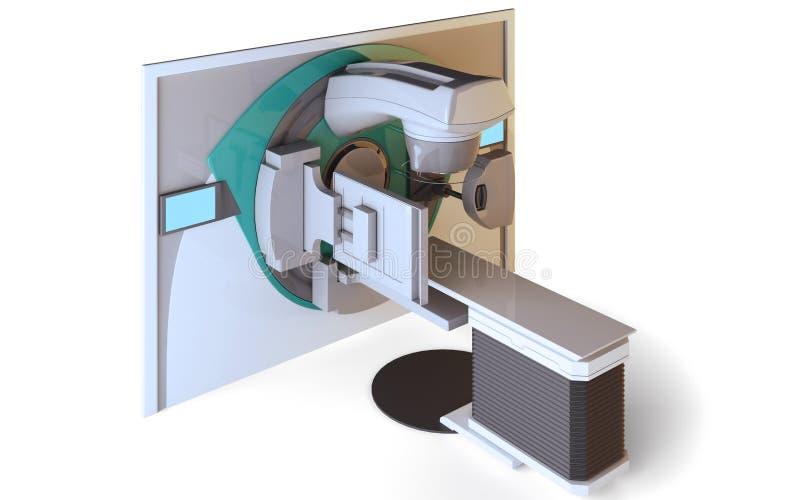 Acelerador linear libre illustration