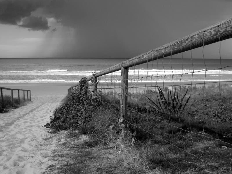 Acercamiento de la tormenta fotos de archivo