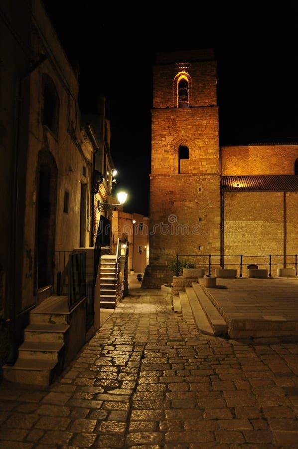 Acerenza, Basilicata, Italia La cattedrale di Santa MAria Assunta immagine stock