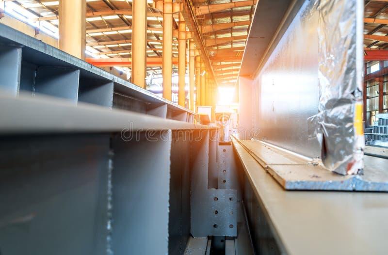 Acero apilado de la fábrica de acero foto de archivo libre de regalías