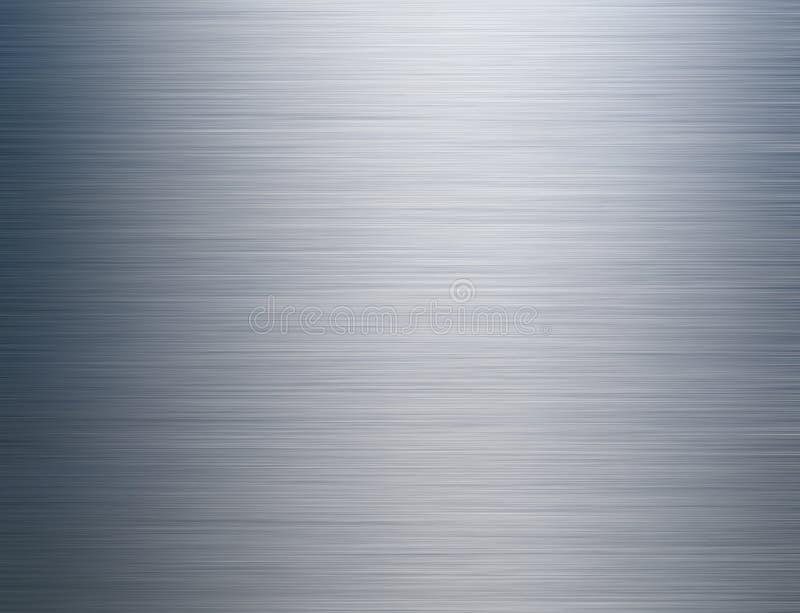 Acero aplicado con brocha fotografía de archivo