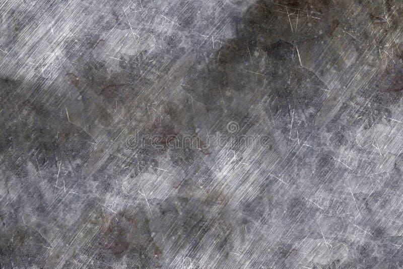 Acero del combate para los vehículos blindados: textura para el equipo militar hoja de metal rasguñada fotos de archivo libres de regalías