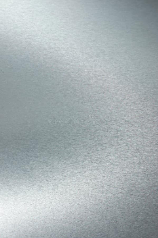 Acero inoxidable aplicado con brocha 2 fotografía de archivo