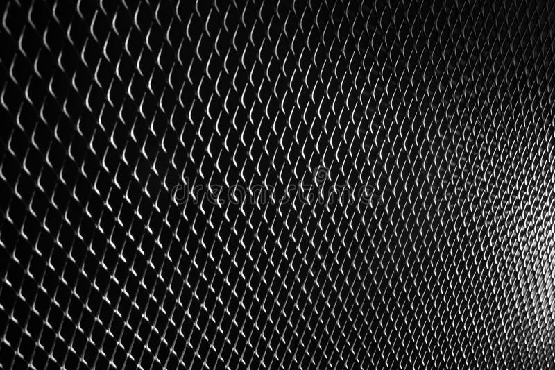 Acero negro del metal del negro de la textura del modelo del fondo del metal fotos de archivo