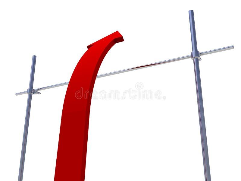 Acertado superando la barrera difícil libre illustration