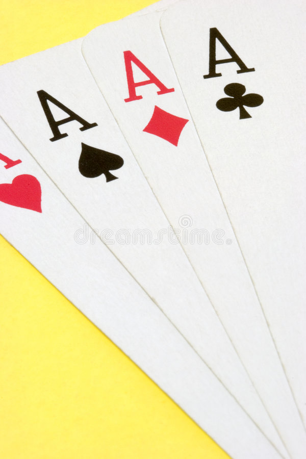 Aces stock photography