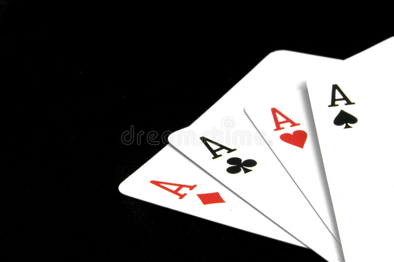 Download Aces on Black stock photo. Image of card, playing, deck - 89004