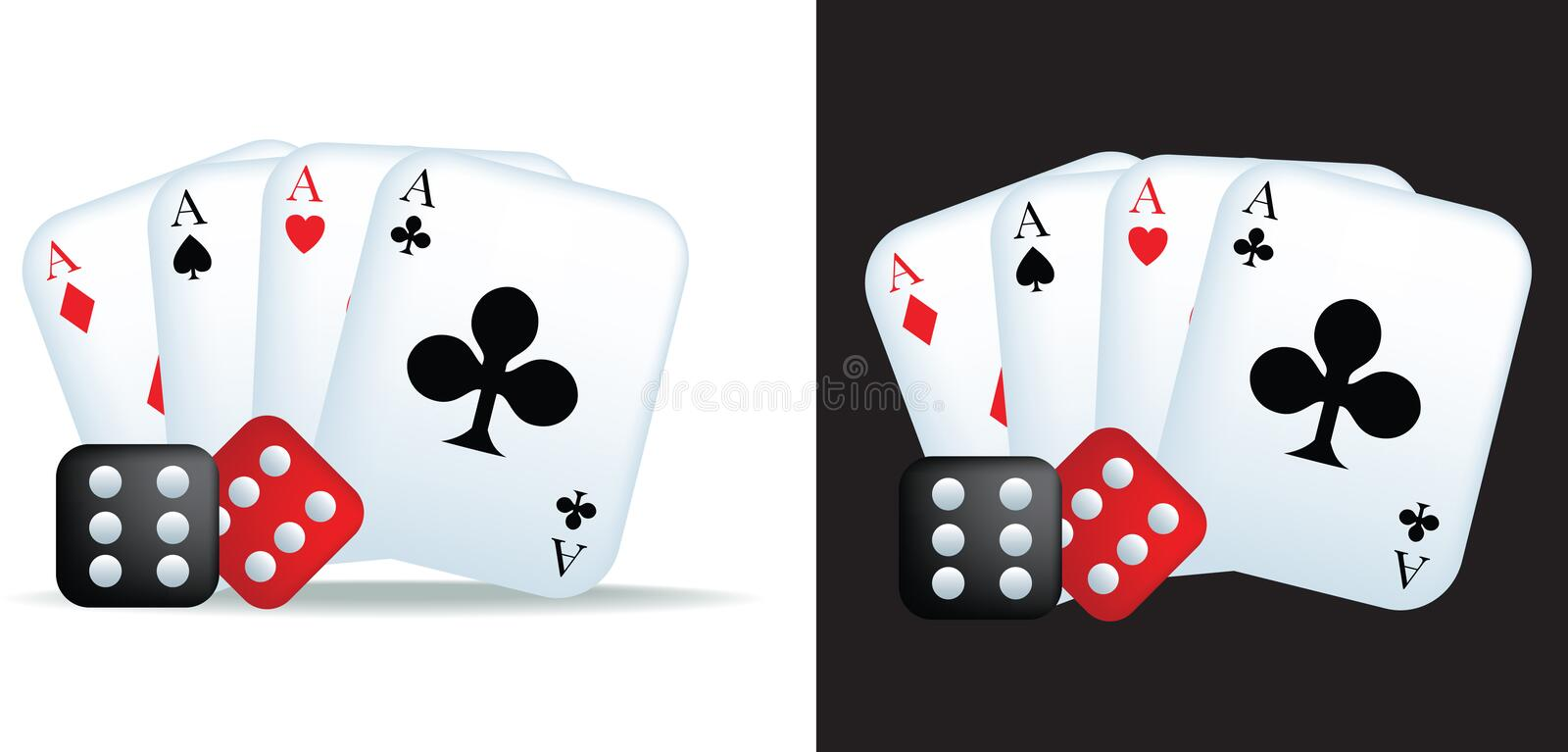 Download Aces And Dice Royalty Free Stock Photo - Image: 11542525