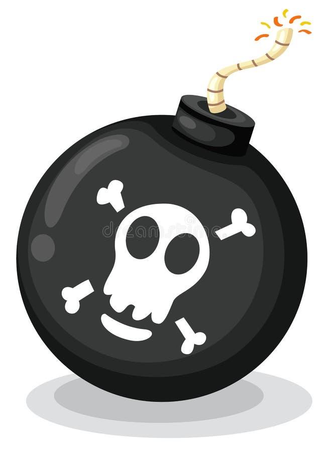 Acessório do pirata ilustração do vetor