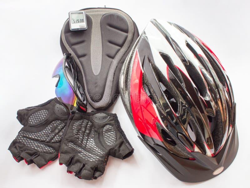 Acessórios Bicycling fotos de stock royalty free