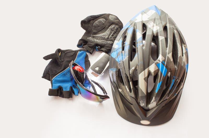 Acessórios Bicycling imagem de stock royalty free