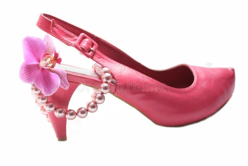 Acessórios cor-de-rosa do fashionista fotos de stock royalty free