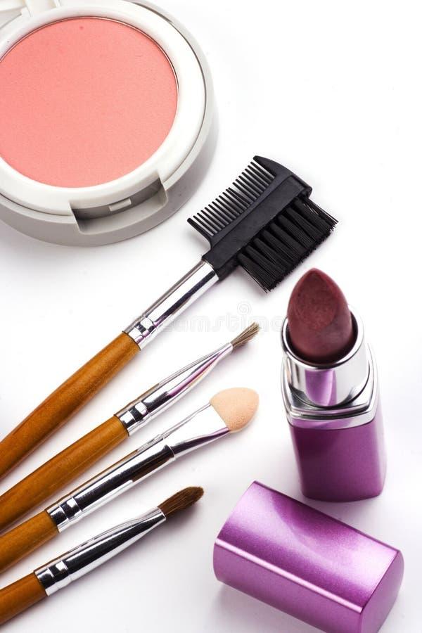 Acessórios cosméticos imagens de stock