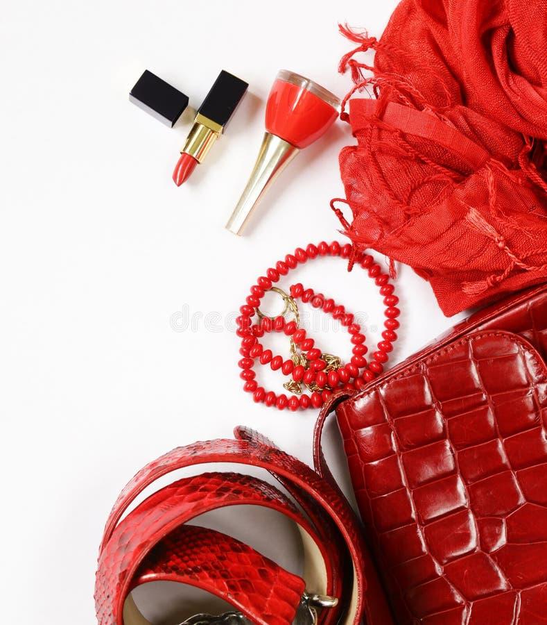 Acessórios de forma para mulheres imagens de stock royalty free