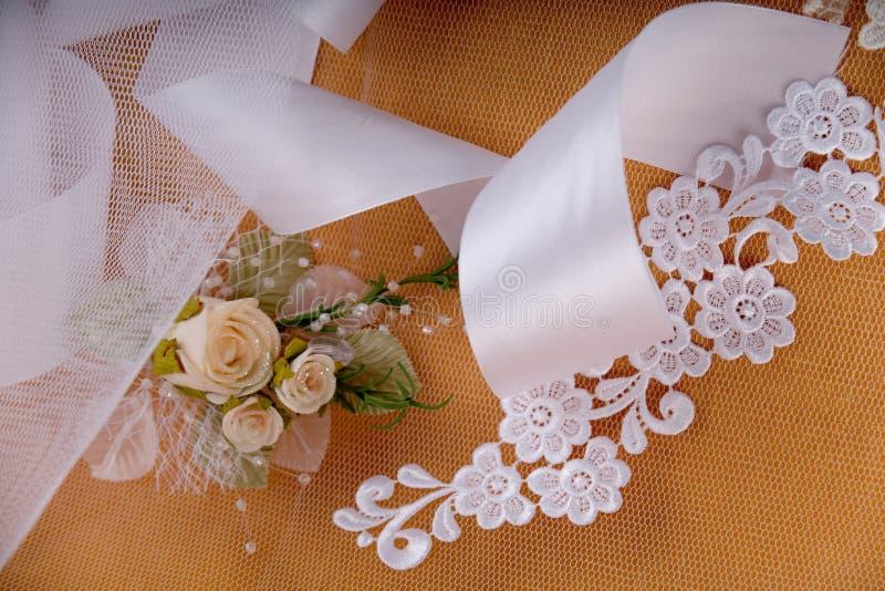 Acessórios do casamento fotografia de stock royalty free
