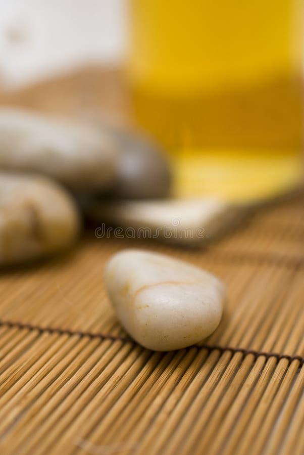 Acessórios para o wellness ou o relaxamento imagem de stock