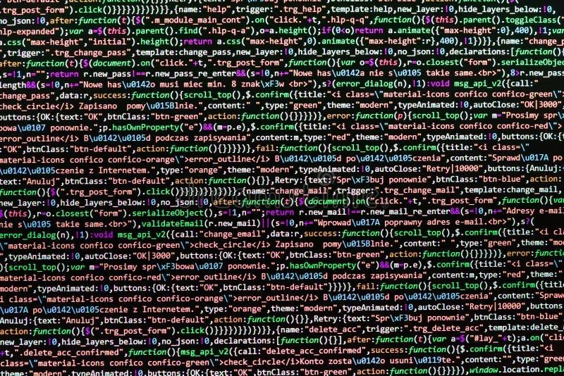 Acesso do Admin à origem de dados imagem de stock