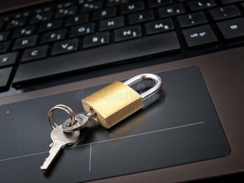 Acesso Locked imagem de stock royalty free