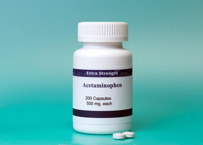 Acetaminophen royalty-vrije stock foto