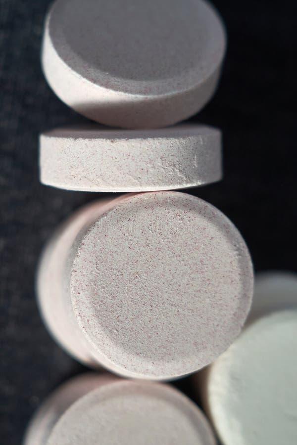 Acetaminophen oder Paracetamol, Medizin für die Entlastungs-Schmerz lizenzfreies stockbild