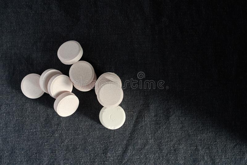 Acetaminophen oder Paracetamol, Medizin für die Entlastungs-Schmerz lizenzfreie stockfotografie
