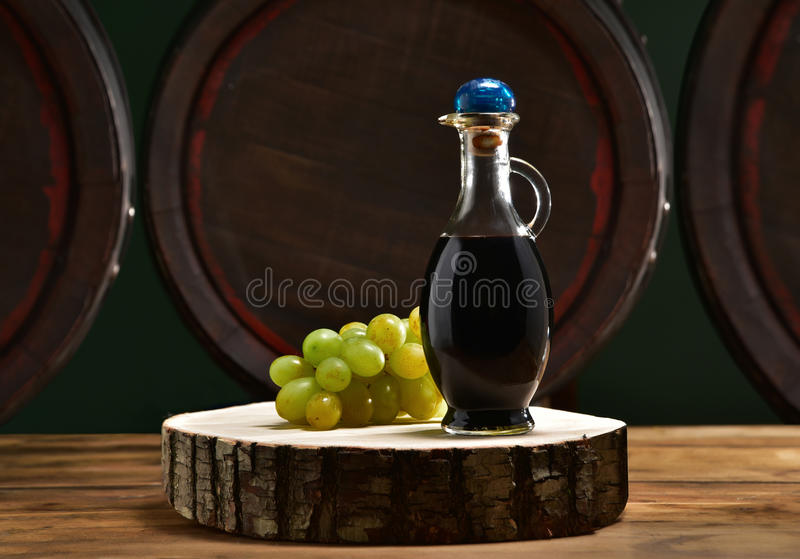 Aceto balsamico przeciwu botti zdjęcia stock