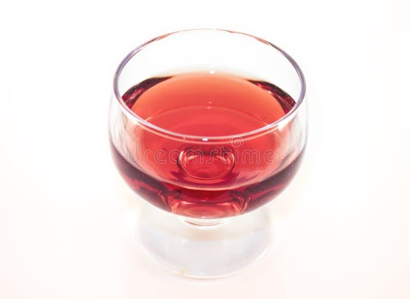 Aceto del vino rosso immagine stock