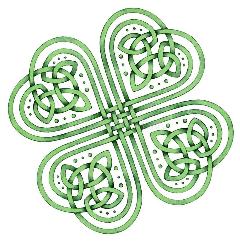 Acetosella celtica illustrazione vettoriale