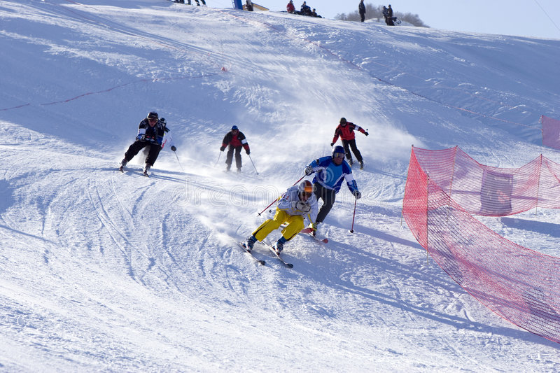 ACG OPEN CUP at Tien Shan stock photos