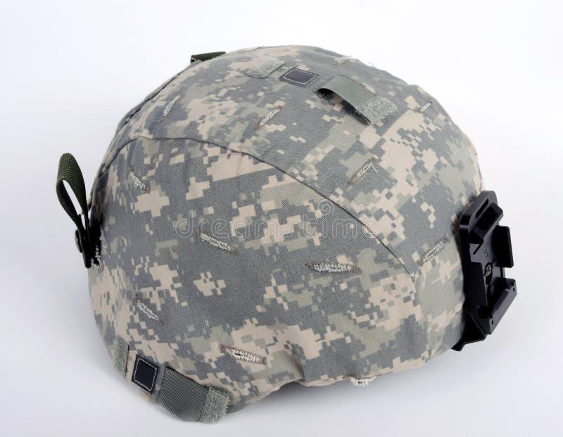 ACH americano (capacete avançado do combate). imagens de stock