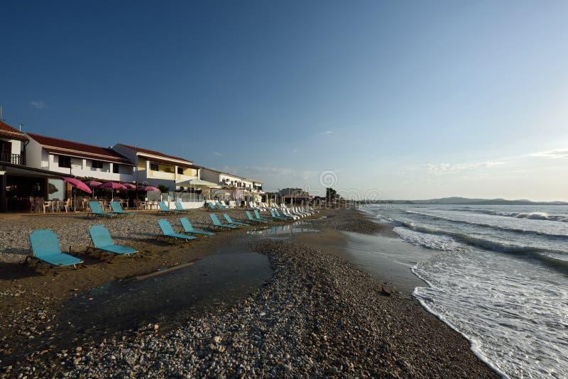 Acharavi plaża zdjęcia stock